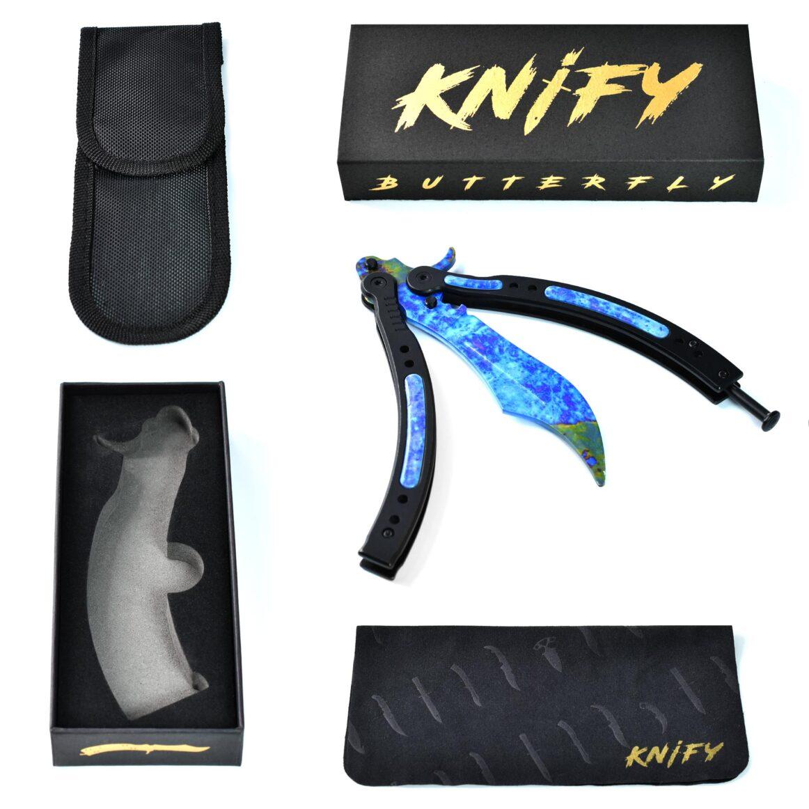 Real CS:GO Butterfly Case Hardened - IRL CS GO Knife