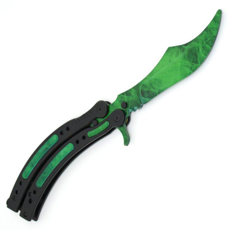 Real CS:GO Butterfly Doppler Emerald- IRL CS GO Knife