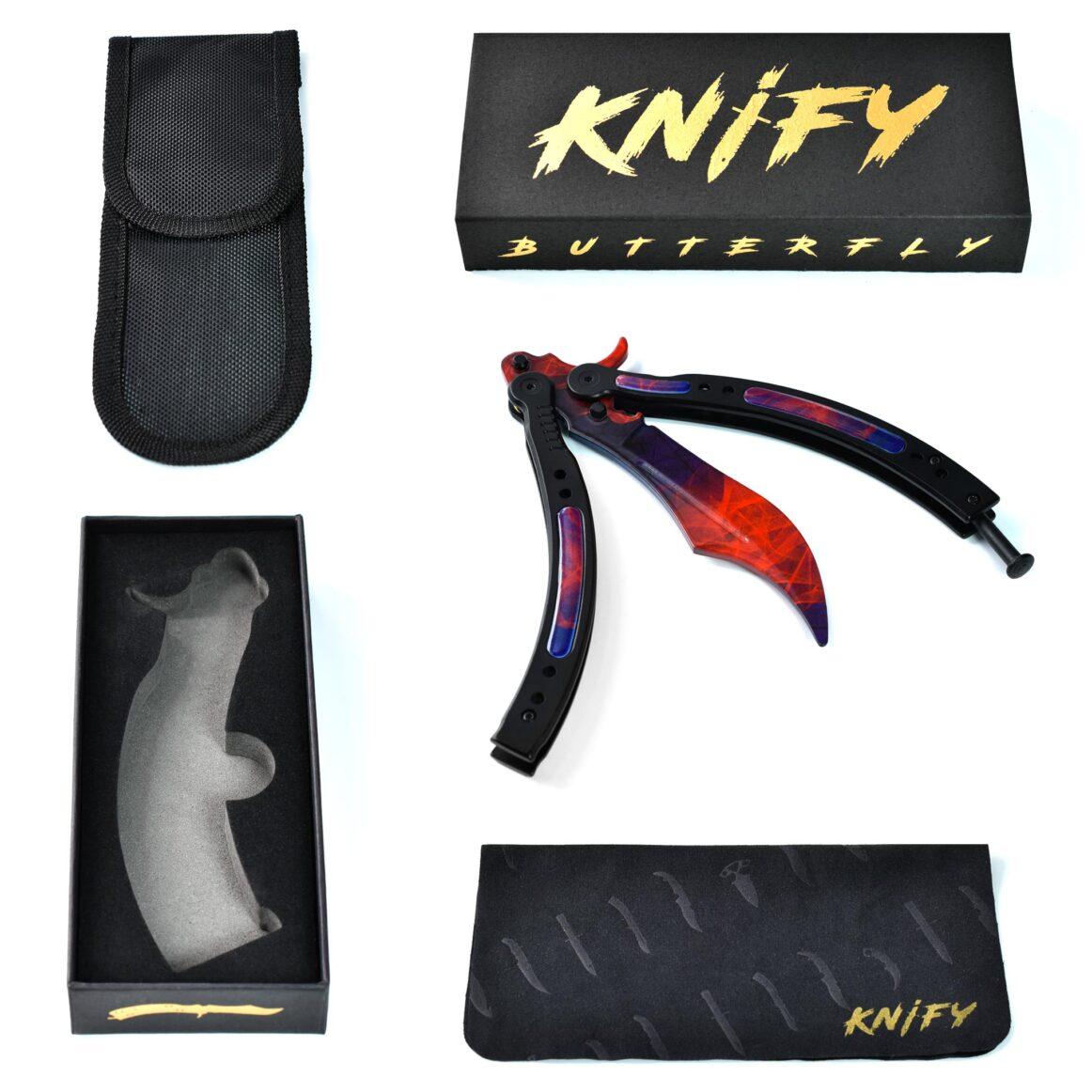 Real CS:GO Butterfly Doppler Phase2- IRL CS GO Knife