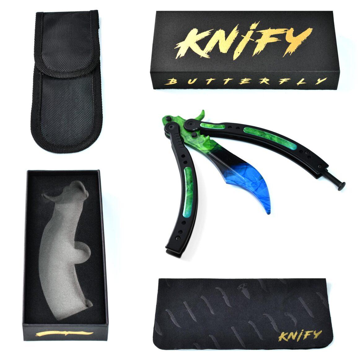 Real CS:GO Butterfly Gamma-Doppler Phase4- IRL CS GO Knife