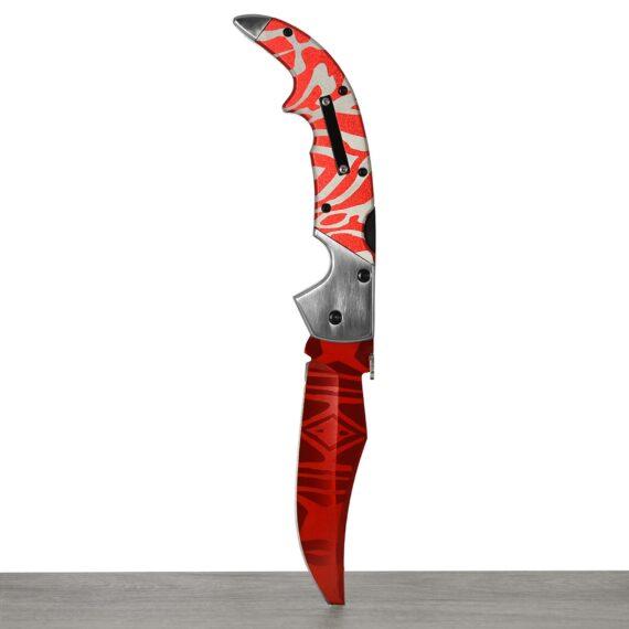 Couteau CS:GO IRL Falchion Slaughter - Vrai Couteau Fauchon Carnage