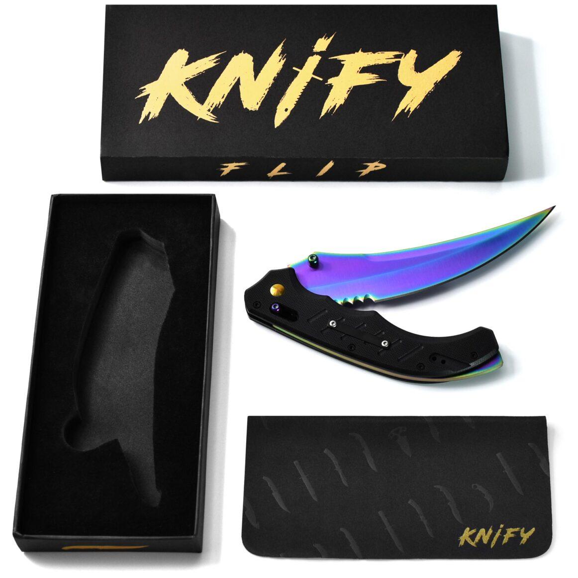 Real CS:GO Flip Fade - IRL CS GO Knife