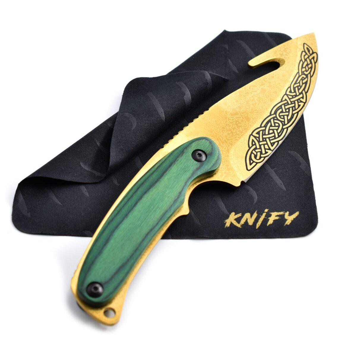 Couteau CS:GO IRL Gut Lore - Vrai Couteau à éviscérer Tradition