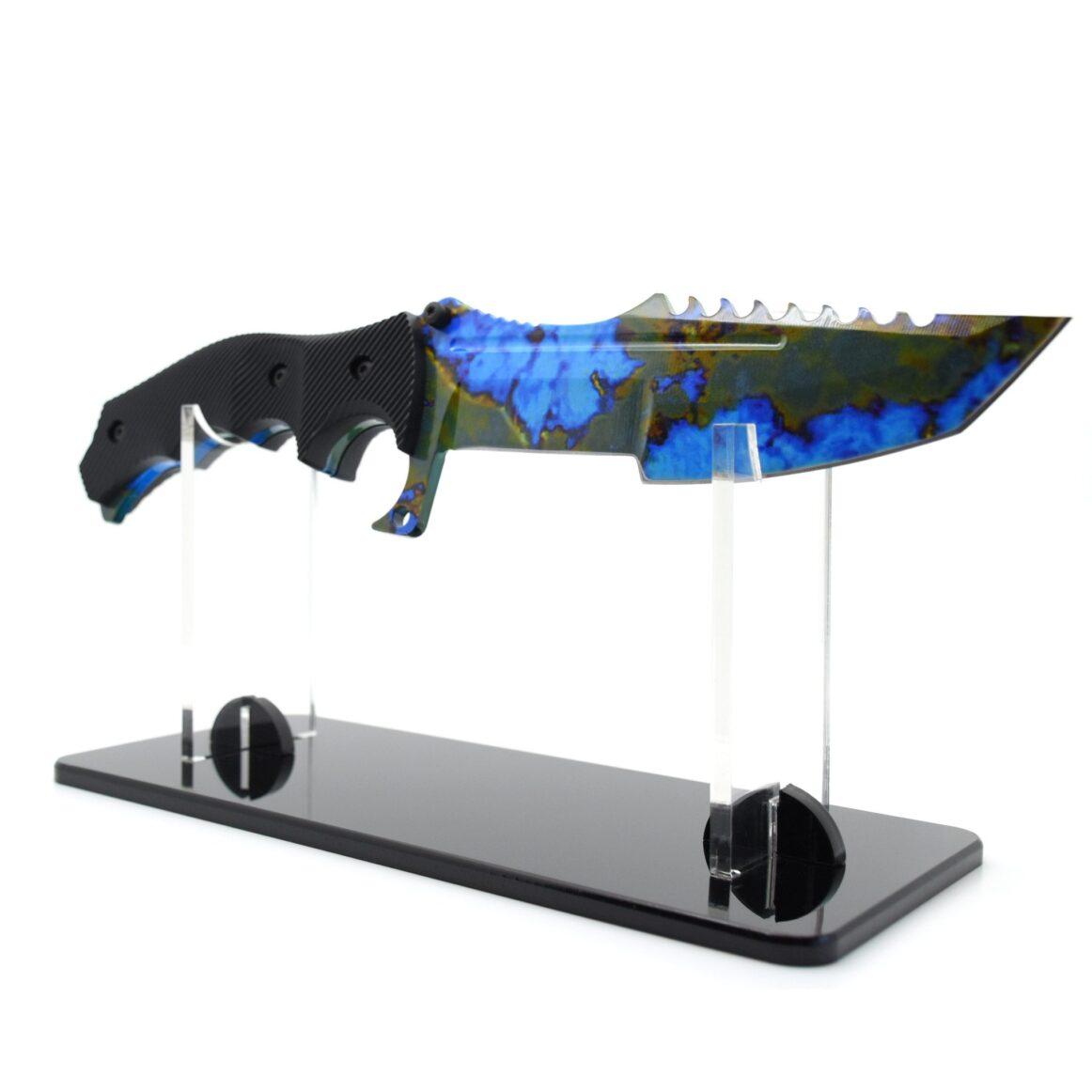 Display Stand Real CS:GO Huntsman Case Hardened - IRL CS GO Knife