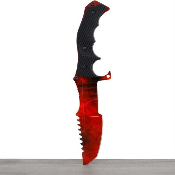 Couteau CS:GO IRL Huntsman Doppler Ruby - Vrai Couteau de chasseur Doppler Ruby