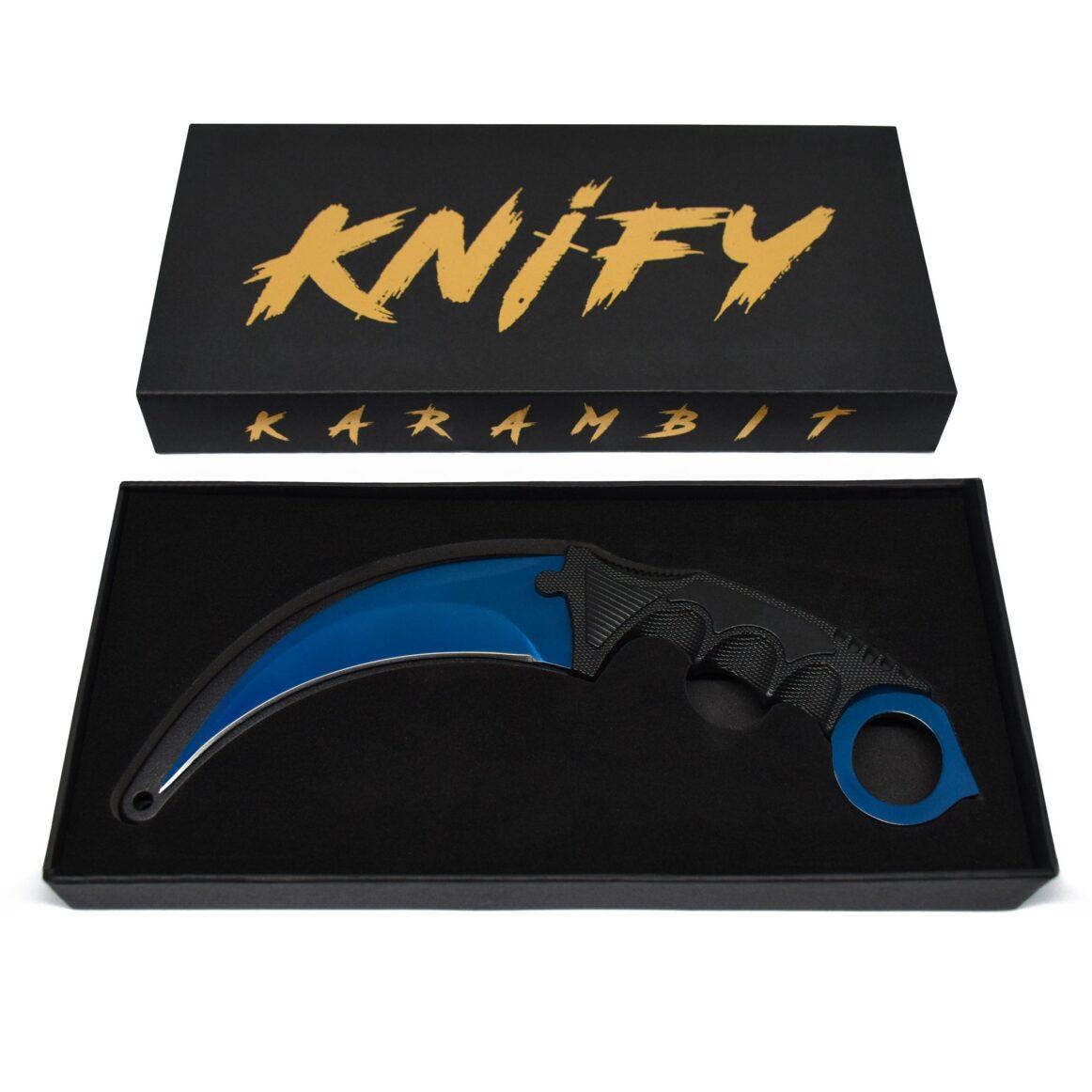 Real CS:GO Karambit Blue Steel - IRL CS GO Knife
