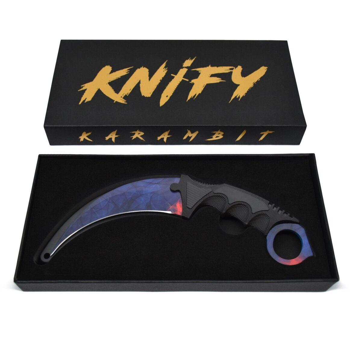 Real CS:GO Karambit Doppler Blackpearl - IRL CS GO Knife