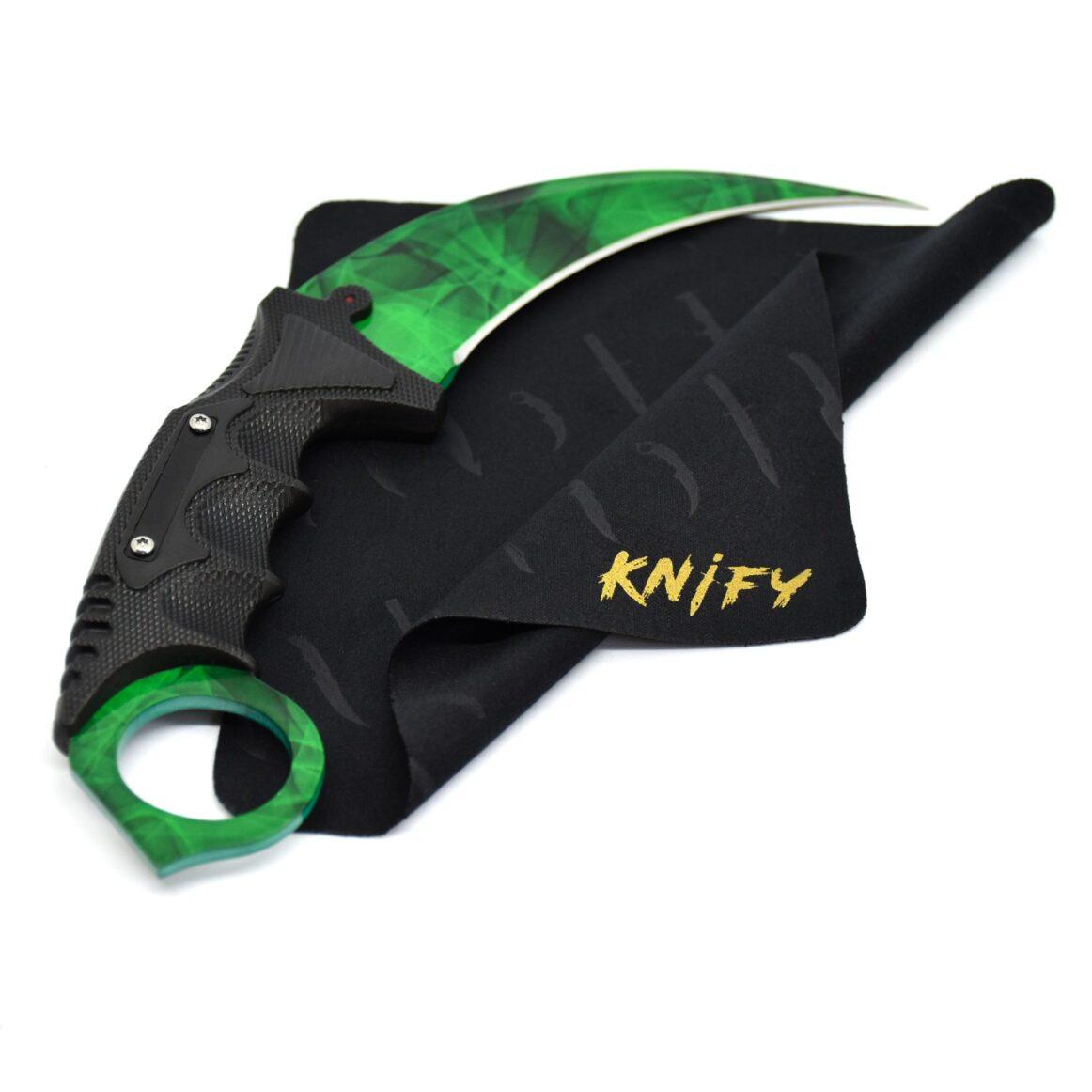 Real CS:GO Karambit Doppler Emerald- IRL CS GO Knife