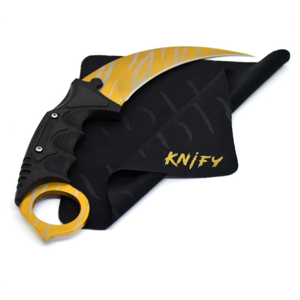 Real CS:GO Karambit Tiger Tooth - IRL CS GO Knife