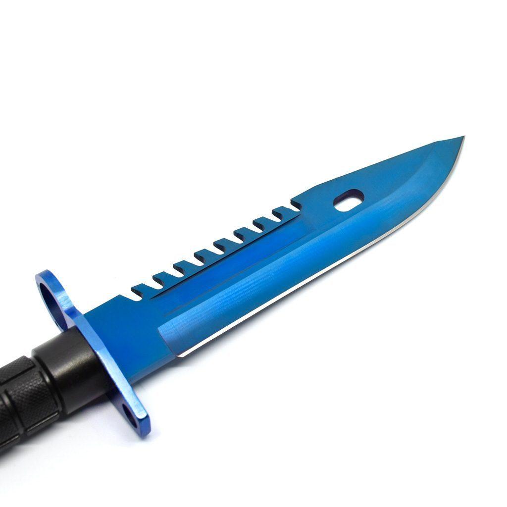 Real CS:GO M9 Bayonet Blue Steel - IRL CS GO Knife