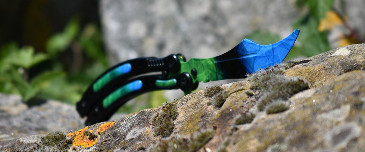Real CS:GO Butterfly Doppler Phase 4 - IRL CS GO Knife