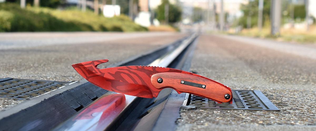 Couteau CS:GO IRL Gut Slaughter - Vrai Couteau à éviscérer Carnage