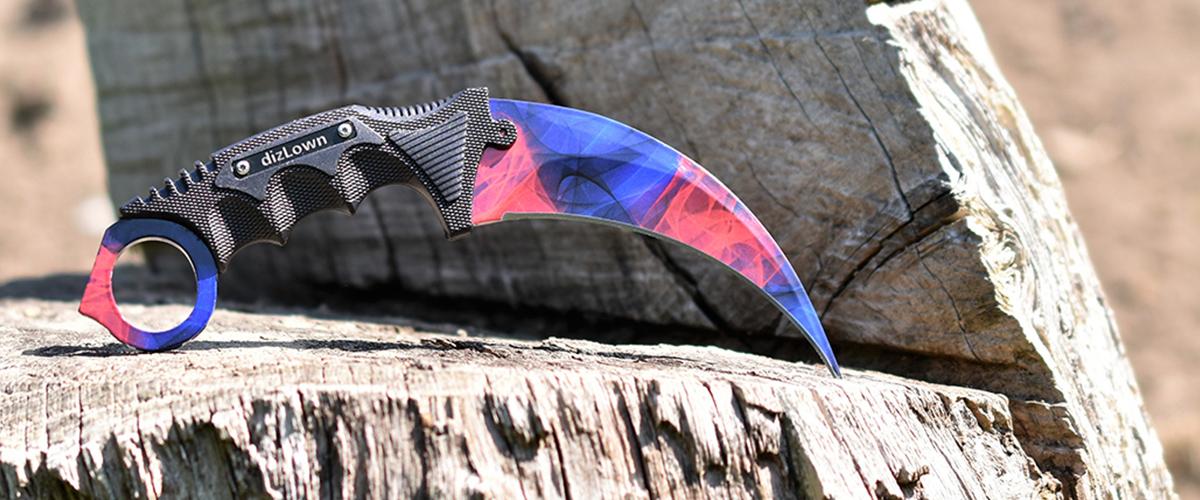 Real CS:GO Karambit Doppler Phase 2 - IRL CS GO Knife