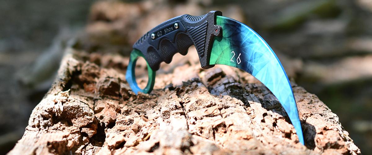 Real CS:GO Karambit Doppler Phase 4 - IRL CS GO Knife