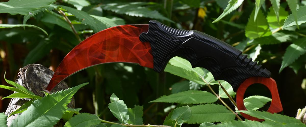 Real CS:GO Karambit Ruby - IRL CS GO Knife