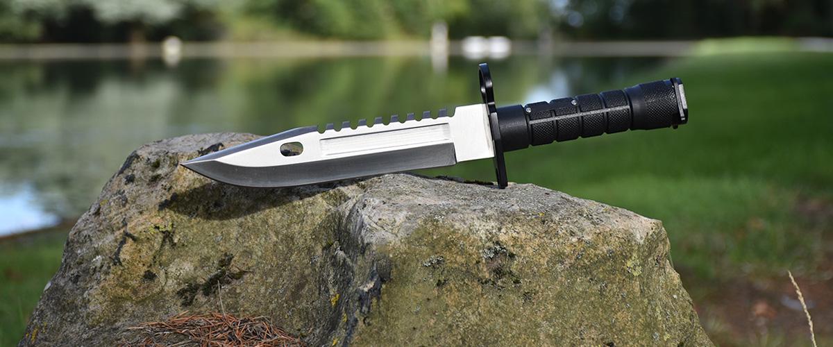 Real CS:GO M9 Bayonet Vanilla - IRL CS GO Knife