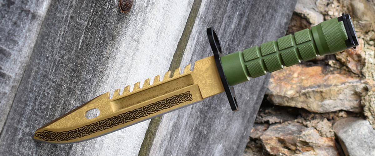 Real CS:GO M9 Bayonet Lore - IRL CS GO Knife