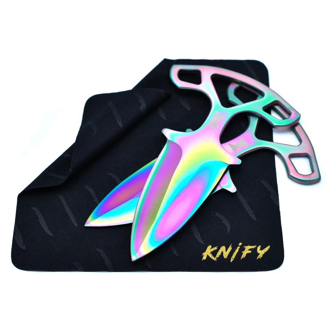 Real CS:GO Shadow Daggers Fade - IRL CS GO Knife